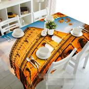 3d Building 42 Tablecloth Table Cover Cloth Birthday Party Event Aj Wallpaper Au