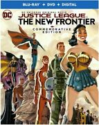 Justice League The New Frontier Commemorative Edition [new Blu-ray] With Dv