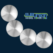 16 Racing Disc / Full Moon / Hot Rod Spun Stainless Hubcaps Wheel Covers Set/4