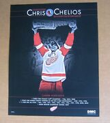 Detroit Red Wings Chris Chelios And B Shanahan Hockey Hall Of Fame 11 X 14 Posters