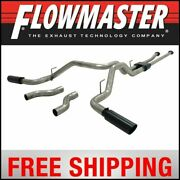 Flowmaster 2009-2016 Toyota Tundra Outlaw Cat Back Exhaust System