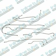 1939 Chevrolet All 112.3 Wb Models With Knee Action Drum Brake Line Set 7pc Ss