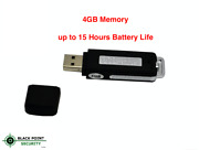 Flash Drive Style Hidden Spy Covert Bug Room Personal Voice Audio Recorder 4gb