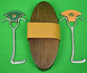 Horse Brush W/ Pair Of Riding Boot Pulls Sold By M.j Knoud 716 Madison Ave