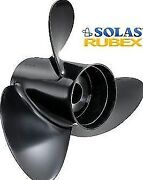 Solas Rubex 3 40-50 -60-140 Hp Outboards And Stern Drives Propeller 14 X 9 Md