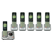 Vtech Cs6629 Cordless Expandable Phone With Cs6609-5 Extra Handsets