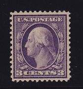 359 Vf-xf Og Lightly Hinged Blue Paper Pf Cert With Nice Color See Pic