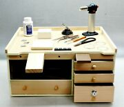 Workbench And Jewelry Soldering Tools Supplies Make Jewelry Solder And Repair Bench