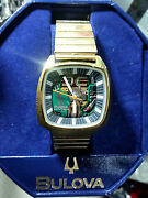 Orologio Watch Bulova Accutron Vintage Design Spaceview 100 Th Anniversary Gold