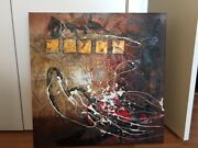 Original Painting Authentic One-of-a-kind Canvas. Artist From Rhode Island