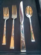 Reed And Barton Classic Rose Sterling 4 Piece Set - 32 Pieces