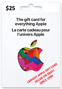 Canadian Apple Gift Card Canada Canadian Itunes Card Music Movie App Store 25