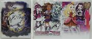 Sdcc 2015 Excl Monster High Signed Art Prints By 5 Mh Team Members Read Posting