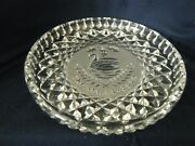 1990 Waterford Crystal 7 Seven Swans A Swimming The 12 Days Of Christmas Plate