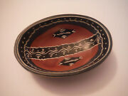 Native American Indian Pottery Miniature Decorative Clay Bowl