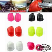 5 Color Universal Rubber Foot Peg Rest Footpeg Anti Dust Cover Guard Protector