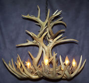 Whitetail Real Antler Cascading Chandelier By Cdn 8 Lights E30