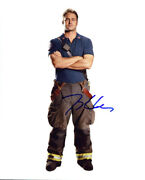 Taylor Kinney Chicago Fire Signed Authentic 8x10 Photo Coa