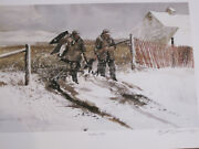 Nieghbors Field By Chet Reneson Goose Hunting Print Number 1 Of 400 Decoy