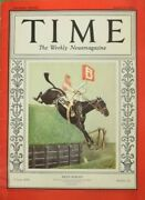 Paul Brown 'billy Barton' Aintree Grand National March 18 1929 For Time Magazine