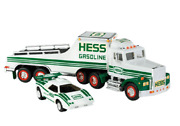 1992 Hess Truck New In Box With Extra C Batteries