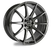 2005-20 Mustang Shelby Venom Anthracite 20 Staggered Wheel Set