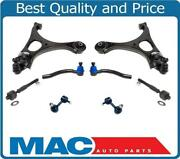 Fits 06-2011 Honda Civic Si 2.0l Front Lower Control Arms Ball Joints Tie Rods