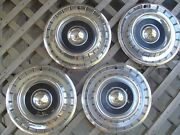 1958 58 Chrysler Windsor Sarstoga Hubcaps Wheel Covers Antique Vintage Classic