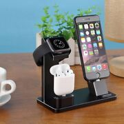 4 In 1 Charging Dock Station Charger For Apple Iphone X 8 7 Plus Air Pods Holder