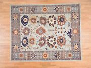 8and0392and039and039x10and039 Peshawar With Antique Sultanabad Design Handmade Oriental Rug G38417