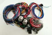 1935 - 1940 Ford Car Pickup Truck 12 Circuit Wiring Harness Wire Kit Street Rod