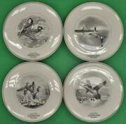 Set Of 4 Federal Duck Stamp 11d Plates By Maynard Reese Et Al