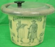 Paul Brown For Brooks Brothers Good Cheer To All C.1950s Resin Ice Bucket
