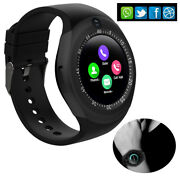 Bluetooth Smart Watch Unlocked Watch Cell Phone For Men Android Samsung Lg Asus