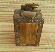 Antique Lighter Art Deco Shaped Books French