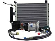 Underhood Performance A/c Kit,1969-70 Ford Mustang W/ 302 And 428 V8, Plain Finish