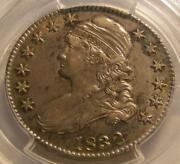 Nice 1832 Capped Bust 50c Half Dollar Pcgs Au 55 Small Letters