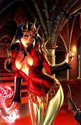 Blood Queen 1 Rare Nei Ruffino Midtown Virgin Ultra Limited Variant 2 Of 2