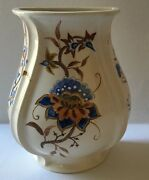 Vintage Handmade & Hand painted Ceramic Wall Flower Pot Planer  (8 x 5 in)