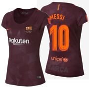 Nike Lionel Messi Fc Barcelona Womenand039s Third Jersey 2017/18