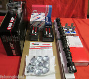 Chevy 283ci Master Engine Kit Pistons Rings Gaskets Bearings Hydr. Cam 1958