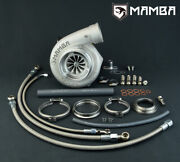 Mamba Ball Bearing Turbo For Nissan Rb25det 4 Twisted Gt3082r .61 V-band In/out