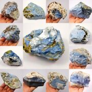 100 Natural Blue Opal Rough Mineral Specimen Ng13069-13093 Free Shipping