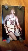 Poster Billy Cunningham Sports Illustrated 1971 Vintage Mint Phila 76ers