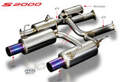 Toda Racing 70mm High Power Muffler System For S2000 F20c F22c 18000-ap1-702