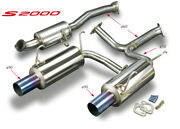 Toda Racing High Power Muffler System For S2000 F20c F22c 18000-ap1-001