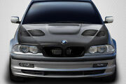 99-01 Bmw 3 Series 4dr E46 Gt-r Dritech Carbon Fiber Body Kit- Hood 112908