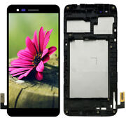 Fit For Lg Rebel 2 L57bl L58vl Risio 2 Lcd Display Screen Touch Digitizer Frame