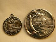 Made In Palestine ירושלם - Brooch And Pendant- 935 And 925 Silver - Rachel Tomb
