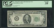 Fr2155m 100 1934c Frn Mule Star Note Only 2 Known Wlm5060